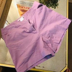 Purple Nike Golf Shorts